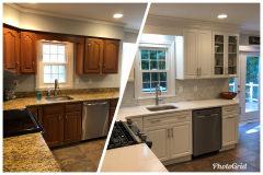 Garnet Valley Home Remodel before & after 2