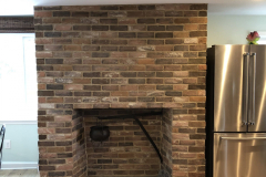 Landenburg Kitchen Fireplace