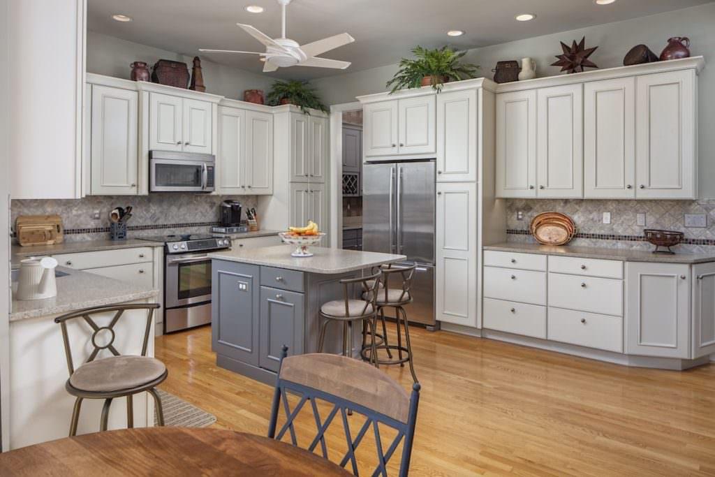 Greenville Kitchen Cabinet Installation