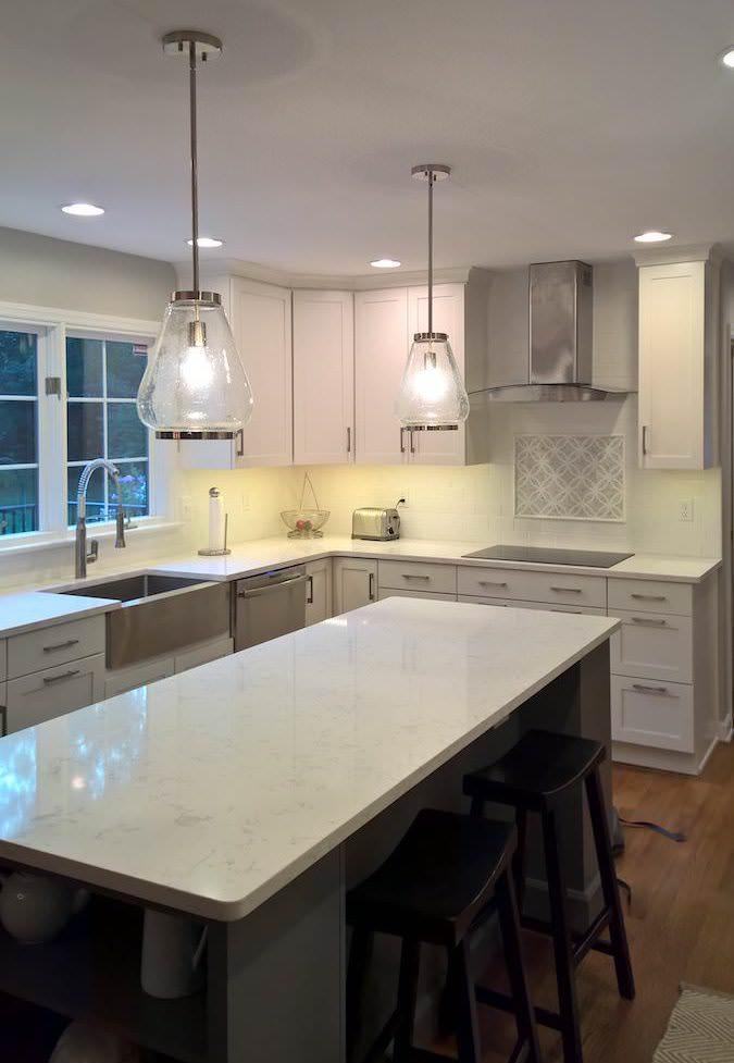 6 Stunning Modern Farmhouse Kitchen Design Ideas Holcomb Cabinetry