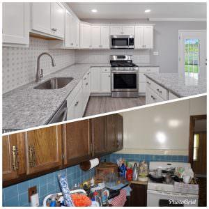kitchen remodel transformation
